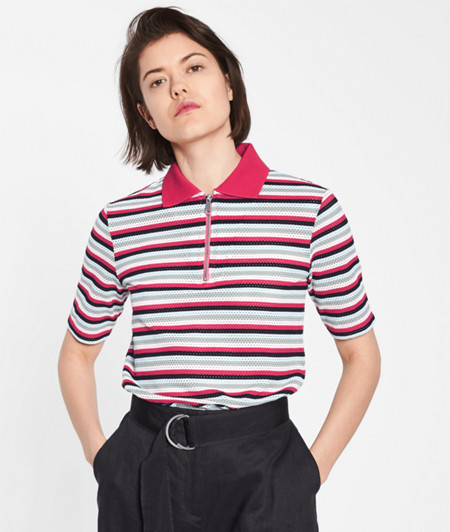 Polo shirt with a stripe design from liebeskind