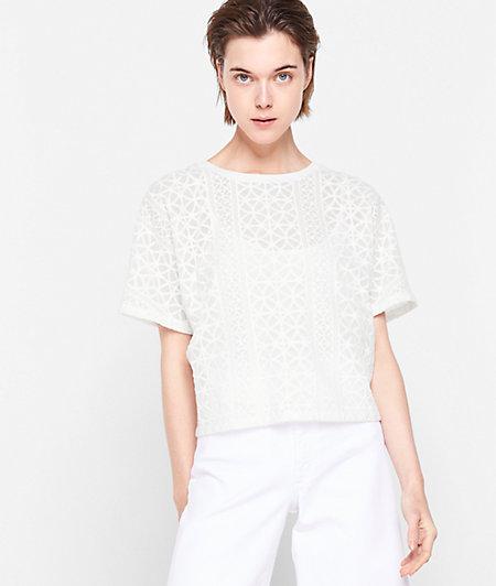 T-Shirt im Meshdesign