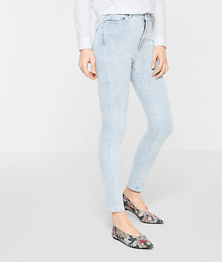 High-waisted skinny jeans from liebeskind