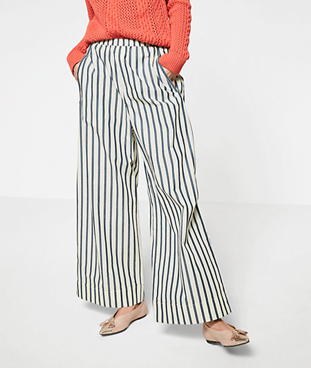 Culottes with stripes from liebeskind