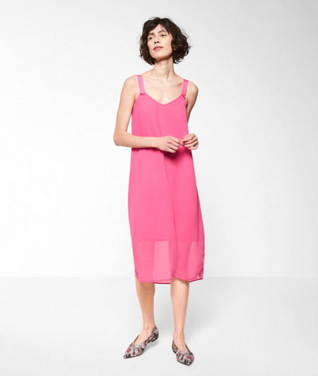 Crêpe fabric dress from liebeskind