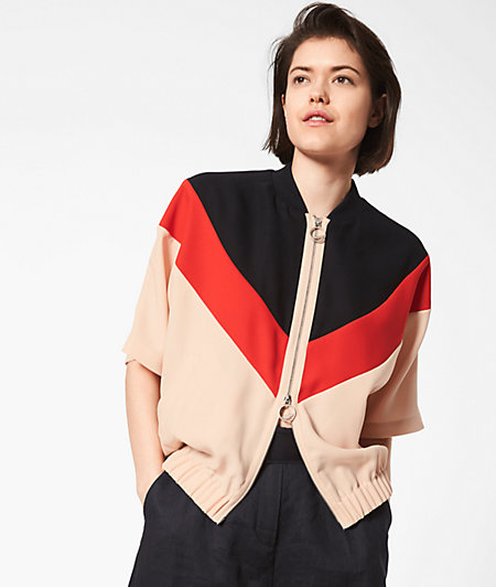 Jacket with short sleeves from liebeskind