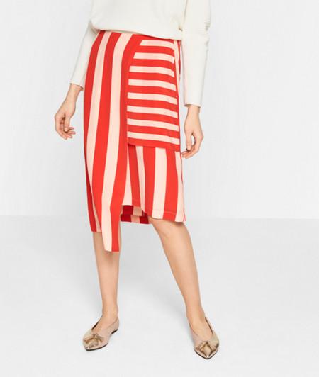 Asymmetric skirt from liebeskind