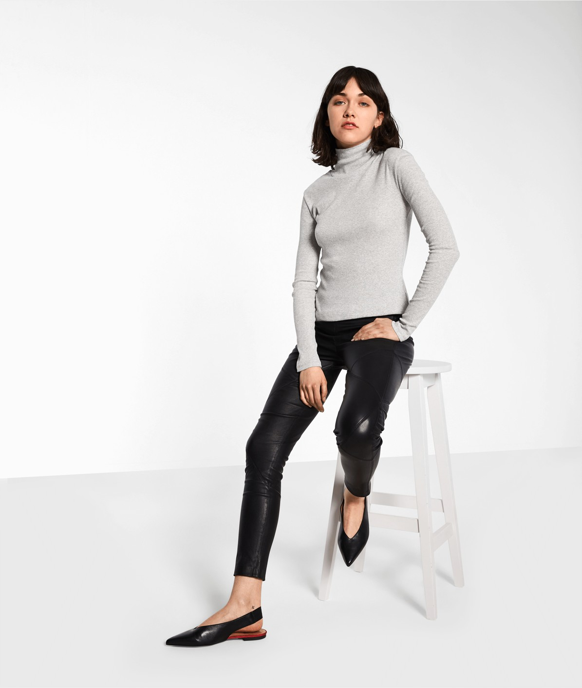 Polo neck top from liebeskind