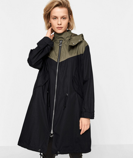 Parka with a hood from liebeskind