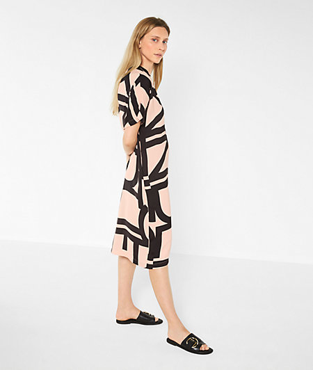 Logo dress mit Liebeskind-Print