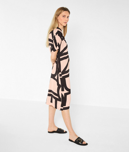 Logo dress with a Liebeskind print from liebeskind