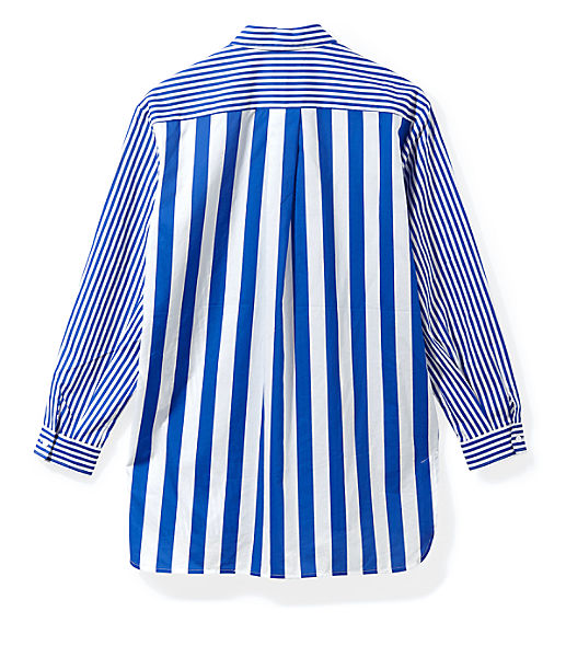Oversized top with stripe patterns from liebeskind