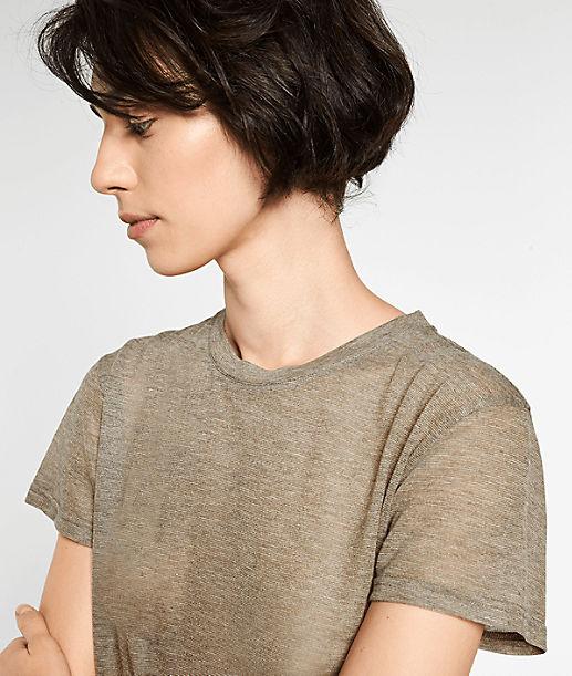 T-Shirt mit Glitzer