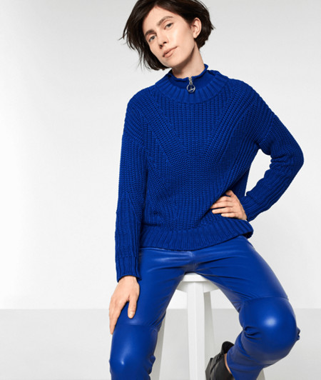 Chunky knit jumper with wool from liebeskind