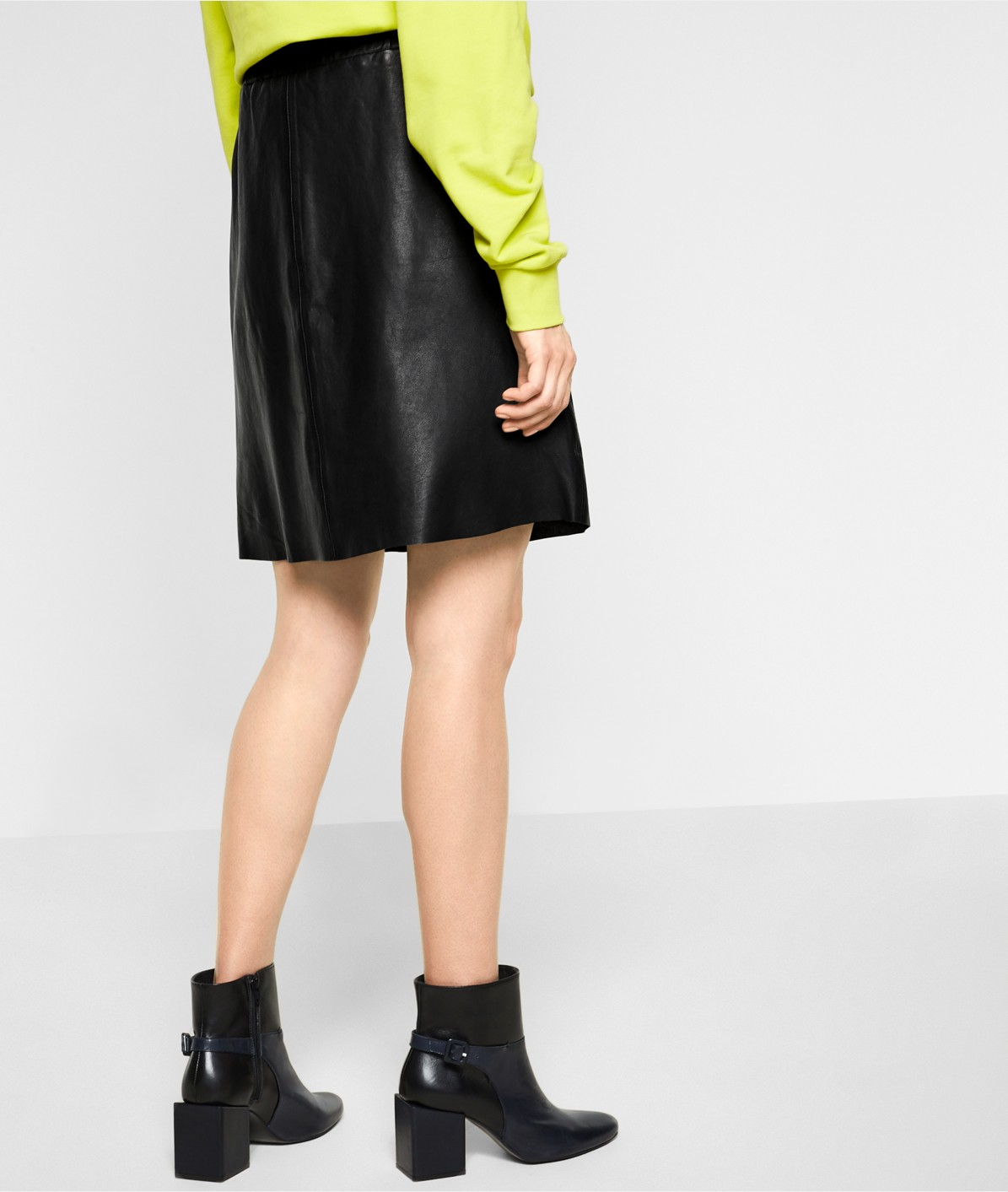 Soft leather skirt from liebeskind