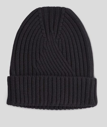 Rib knit hat from liebeskind