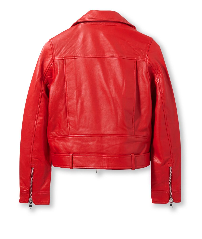 Lambskin leather biker jacket from liebeskind