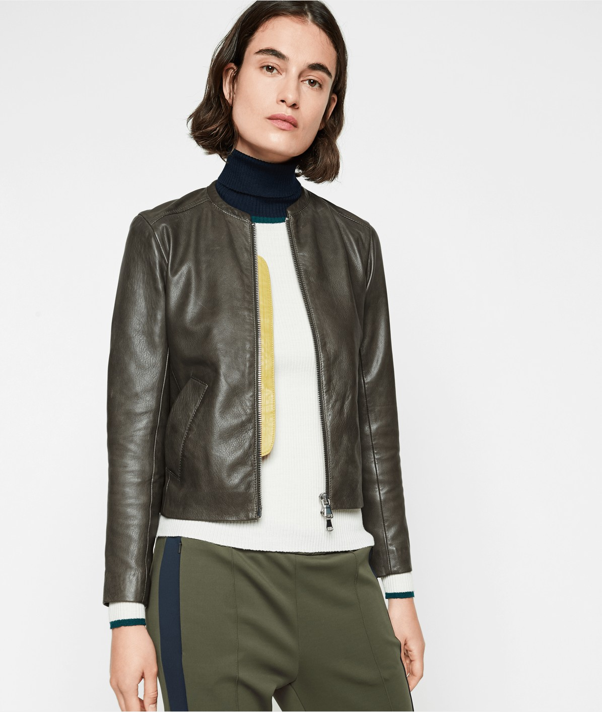 Soft lambskin leather jacket from liebeskind