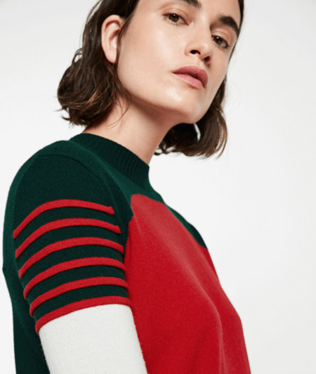 Fine knit jumper in wool and cashmere from liebeskind