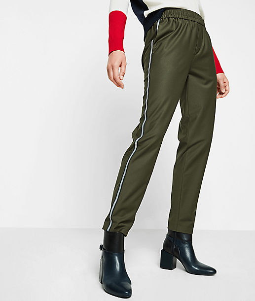 Pull-on pants with reflective elements from liebeskind
