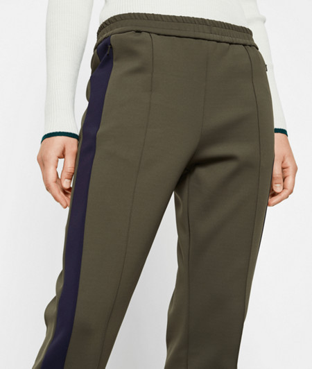 Pull-on trousers in a neoprene look from liebeskind