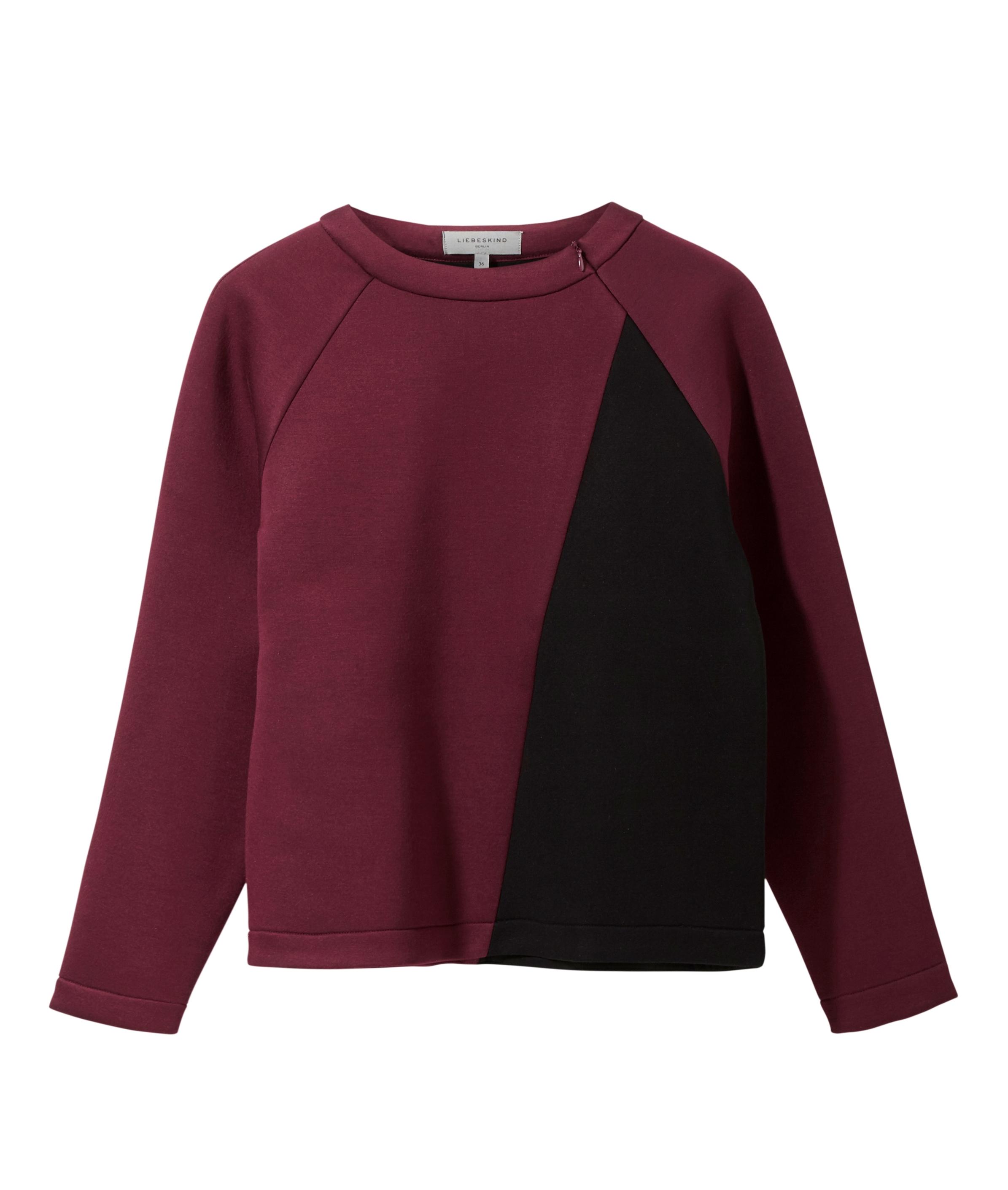 liebeskind berlin - Pullover aus Neoprenmaterial, Pink, Größe 34
