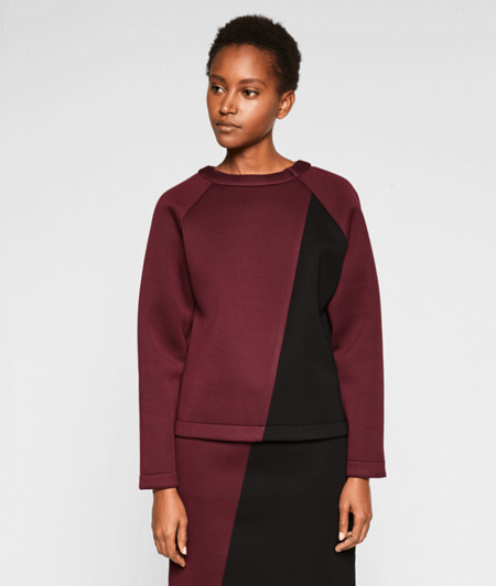 Neoprene jumper from liebeskind