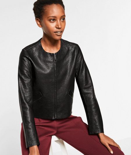 Lambskin leather jacket from liebeskind