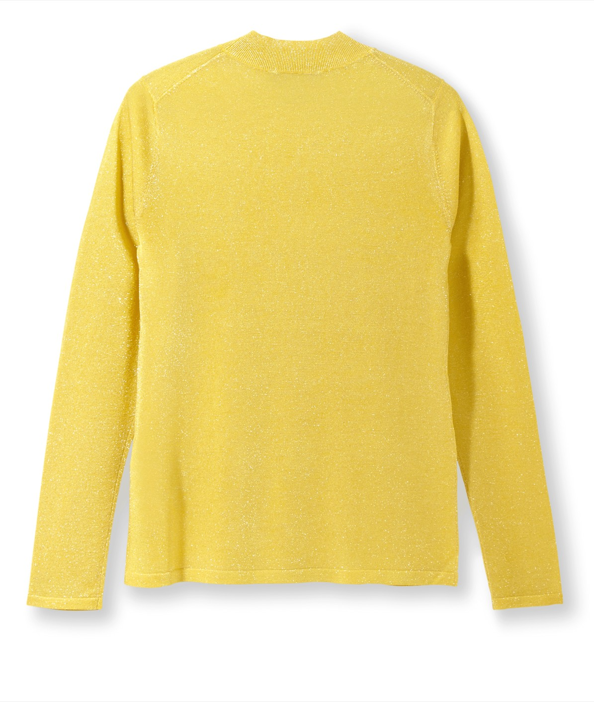 Rollkragenpullover im Colourblocking