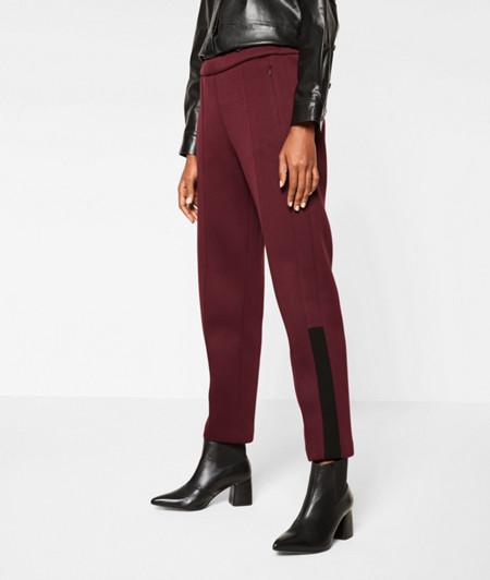 Neoprene trousers from liebeskind
