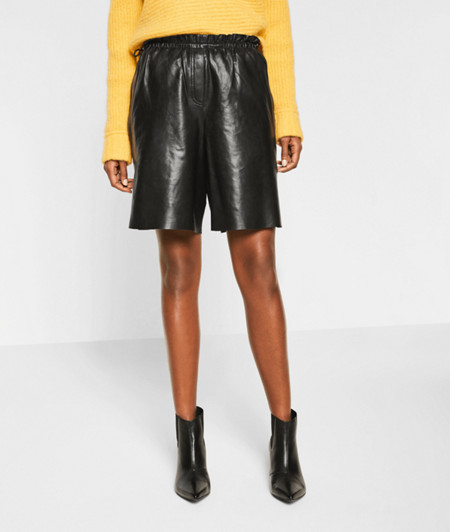 Lambskin leather shorts from liebeskind