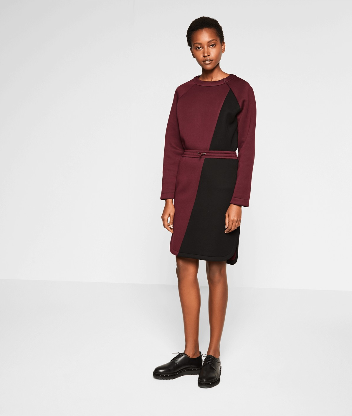 Neoprene skirt from liebeskind