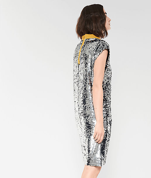 Dress with sequins from liebeskind