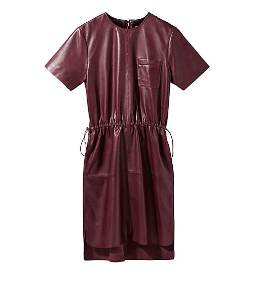 Kleid aus Lammleder