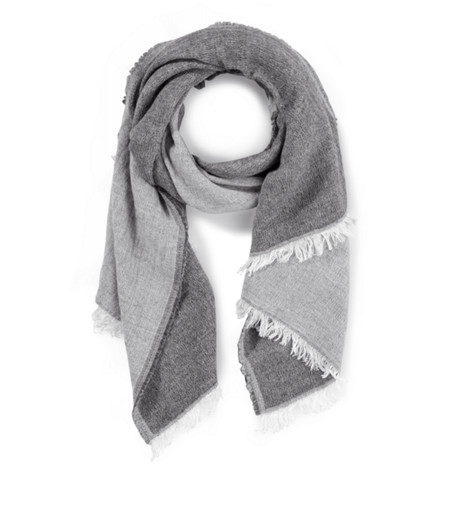 Two-tone scarf from liebeskind