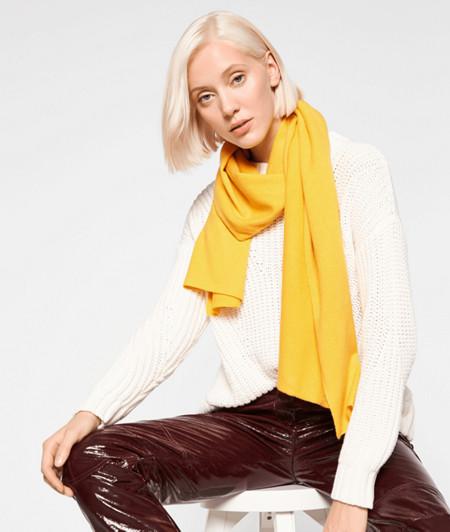 Fine knit scarf from liebeskind
