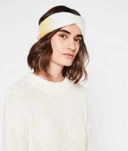 Stirnband im Colourblocking-Look
