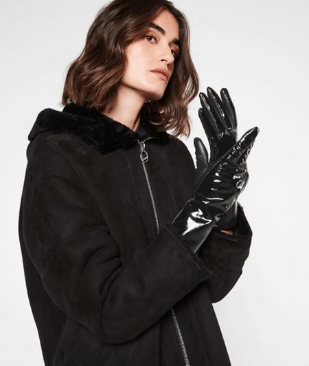 Handschuhe auf Softleder