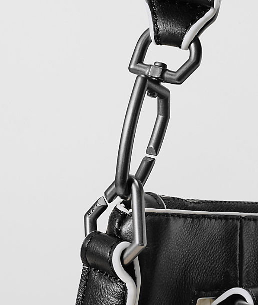 Handbag with contrast details from liebeskind