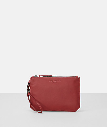 Make-up bag with a textured front from liebeskind