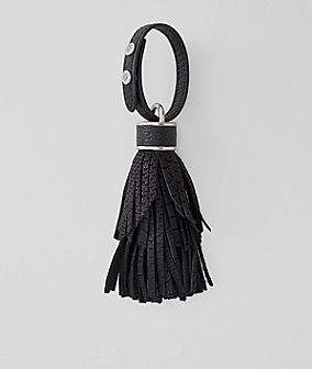 Key ring with fringing from liebeskind