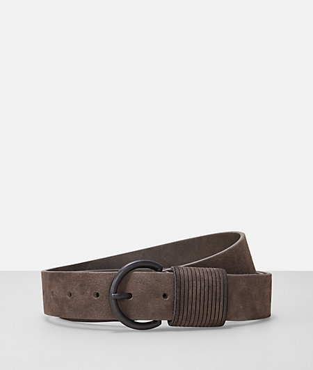 Leather belt in a nubuck look from liebeskind