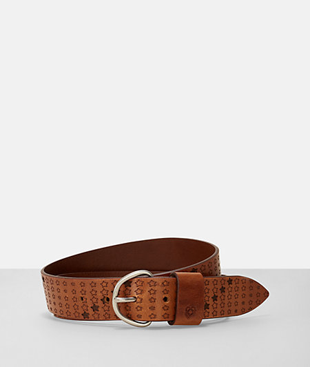 Belt with a star print from liebeskind