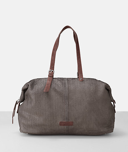 Shoulder bag with contrasting handles from liebeskind