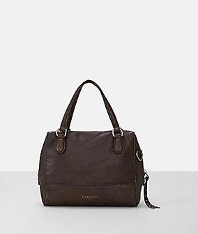 Handbag in a matte leather look from liebeskind
