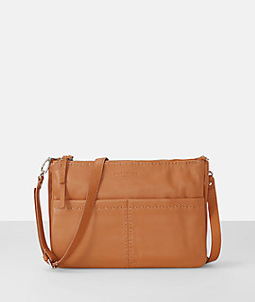 Shoulder bag with decorative seams from liebeskind