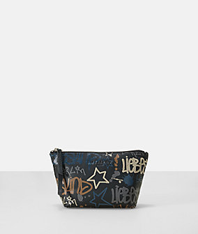 Make-up bag in a graffiti style from liebeskind