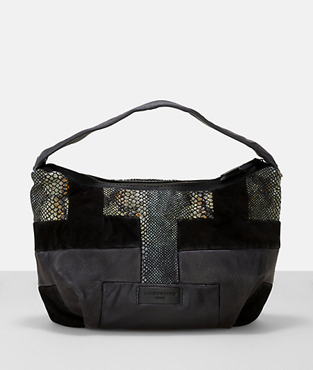 Handbag with a patchwork surface from liebeskind