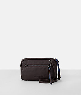 Leather sporty pocket small crossbody bag from liebeskind