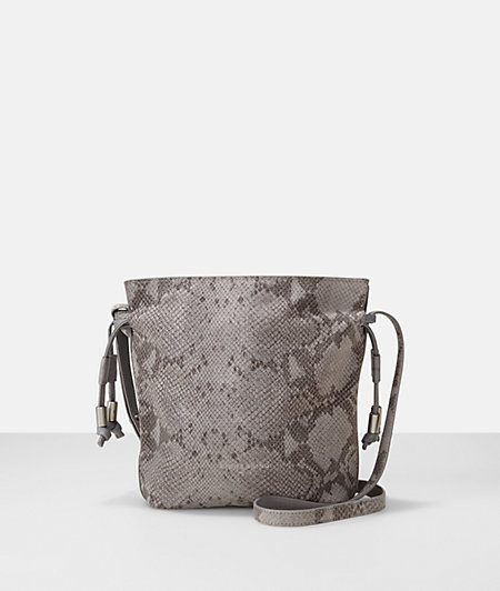Shoulder bag in a reptile-skin look from liebeskind