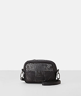Shoulder bag in a multi-leather look from liebeskind