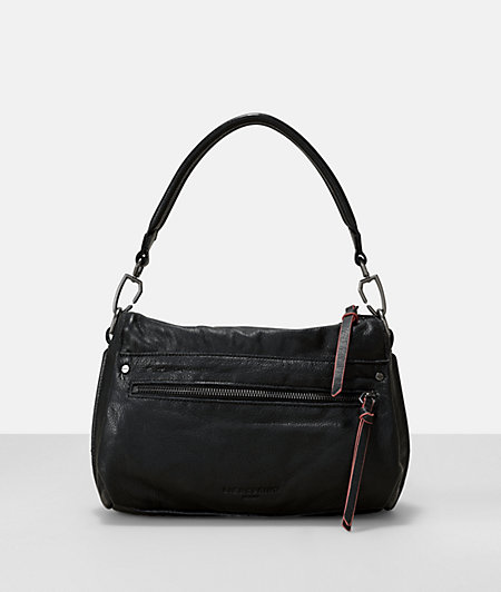 Leather sporty pocket hobo bag from liebeskind