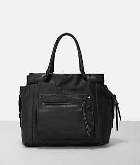 Handbag with an outer compartment from liebeskind
