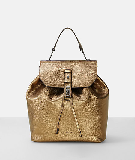 Pebbled leather backpack from liebeskind